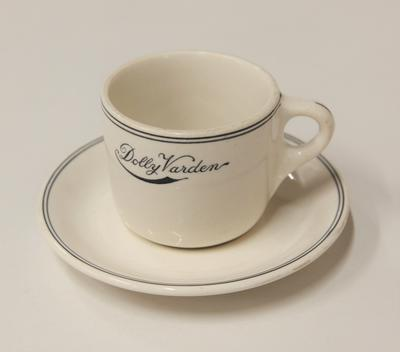 Cup and saucer – Dolly Varden