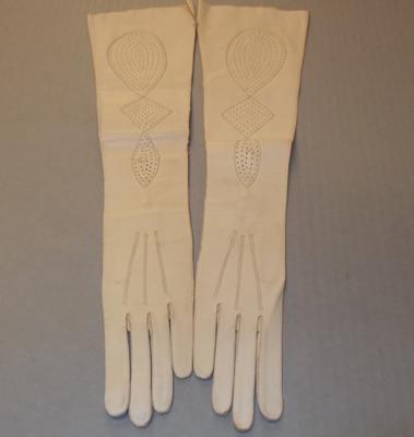 Women's long length gloves