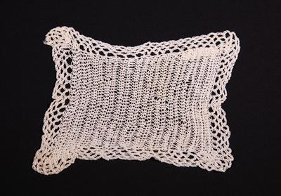 Lace mat or doily