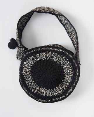 Women's crochet handbag
