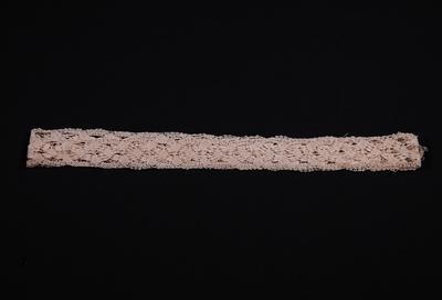 Lace trim insertion