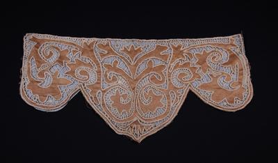 Decorative satin piece