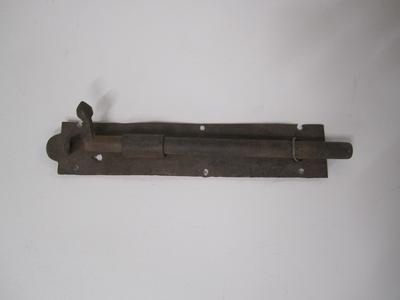 Lock: Tower bolt