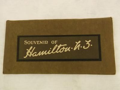 Souvenir -  Folder Images Of  Hamilton