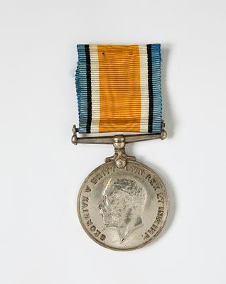 British War Medal – WWI  J.W. Pollock