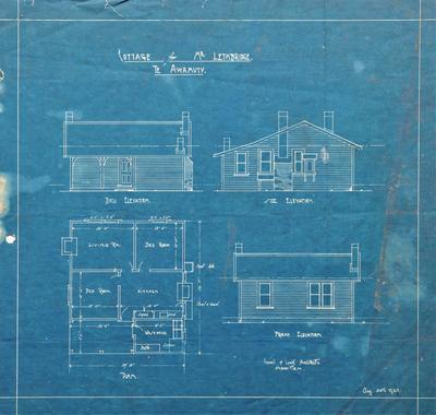 Architectural plans – Mr Lethbridge's Cottage, Te Awamutu