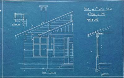 Architectural plans – Mr Jas Colley's residence, Te Kowhai