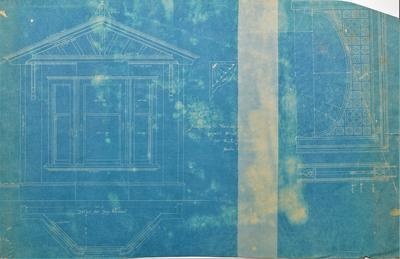 Architectural plans – Additions to Mr E. L. Holmwood's Residence, Cornwall St