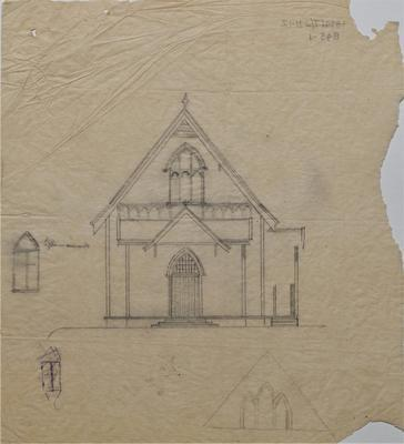 Architectural plans - Alterations to Wesley Church, Hamilton
