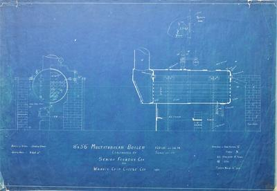 Architectural plan – Multitubular Boiler, Waikato