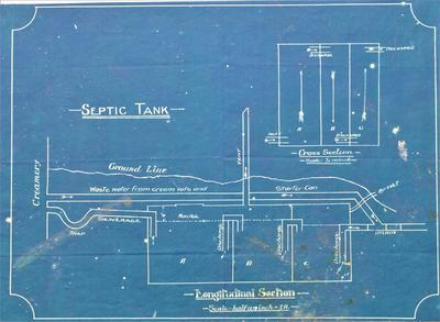 Architectural plans – Septic Tank
