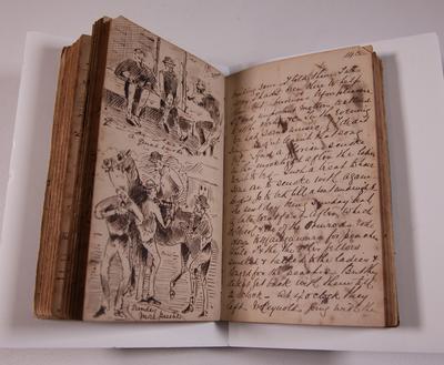 Diary, illustrated. Volume II.