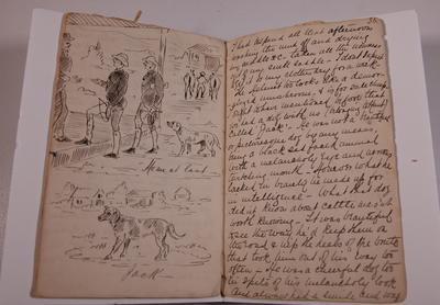 Diary, illustrated