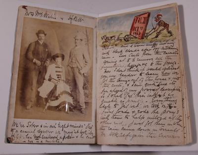 Diary, illustrated. Volume  XI.
