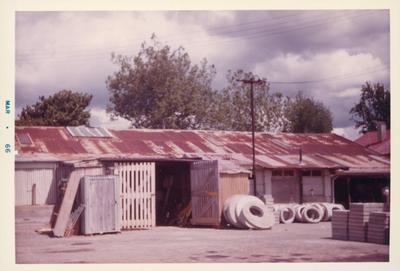 Photograph – Hamilton City Council depot, Ward Street