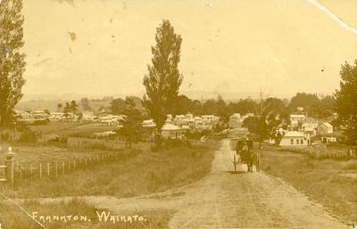 Postcard – Frankton, Hamilton