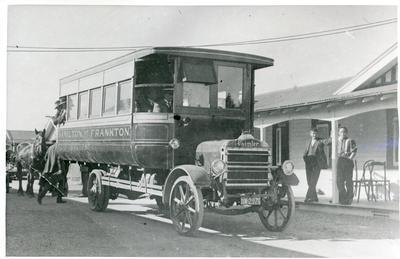 Photograph – Hamilton to Frankton bus