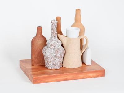 Group with Morandi bottle