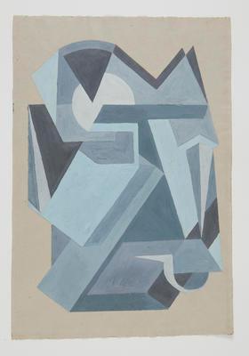 Untitled [Cubistic Study]