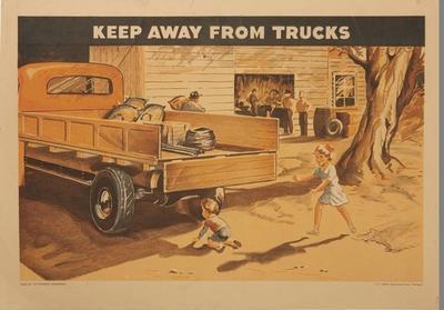 Keep Away From Trucks