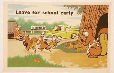 Leave for school early