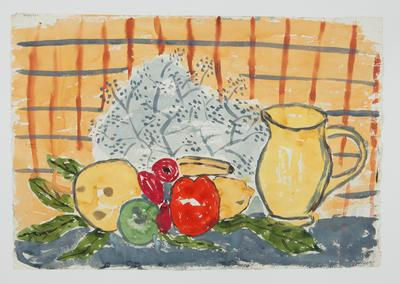 Untitled [Still Life - Fruit and Jug]; Margot Philips; 1987/41/28a