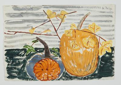 Untitled [Pumpkins]; Margot Philips; 1987/41/28b