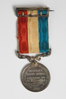 Medal – New Zealand Public School Cadets District Prizel