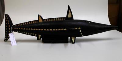 Carving, shark