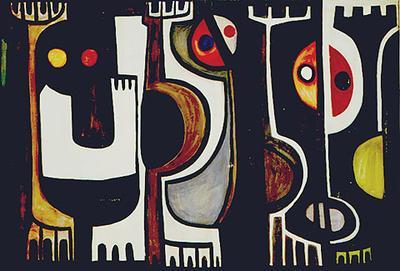 Whiti Te Ra; Para Matchitt; 1962; 1970/59/1