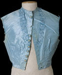 Silk Blue Vest and Cape