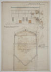 [Thames Valley Co-op Dairying Co. Ltd.] Waitoa Dried Milk Dairy Factory. Engine House.  Drawing No. 8. Amended Front Elevation,