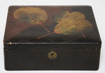 Box - Trinket  Wood and Lacquer Finish Japanese