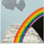 Rainbow over Mt Eden