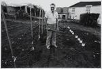 Keith Buckley in His Vegetable Garden: Rotowaro