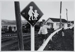 Children Playing Outside the Rotowaro Post Office