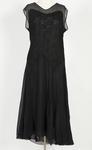 Dress - Silk Crepe Black Dress