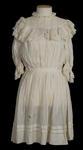 Dress - Girls Cream Dress